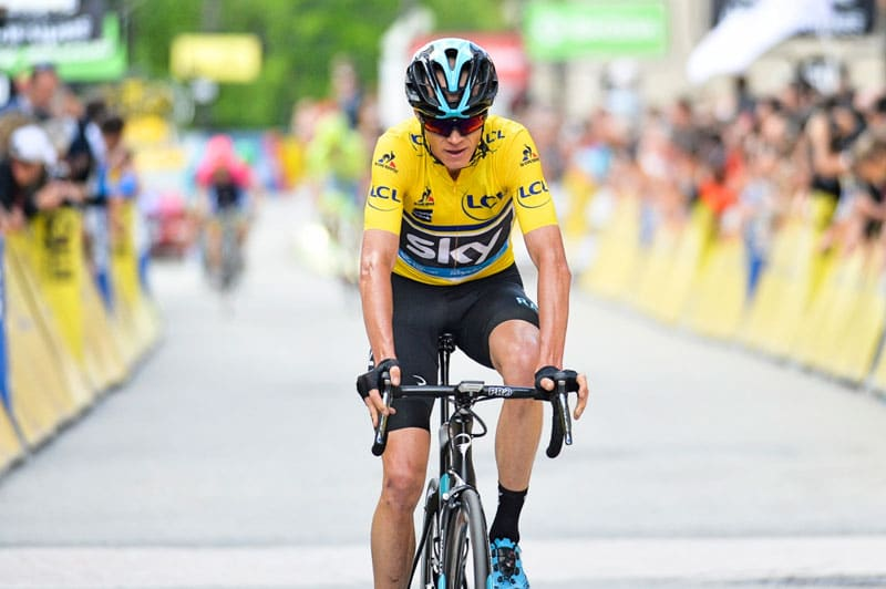 See Chris Froome's Historic record breaking Cycling Journey