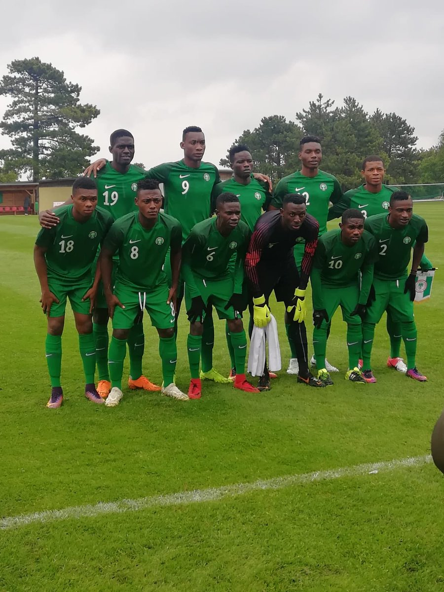 Nigeria 1-2 Saudi Arabia: Flying Eagles fail impress again