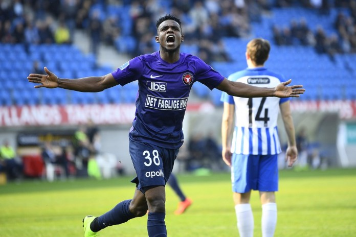 Onyeka happy to extend Midtjylland stay