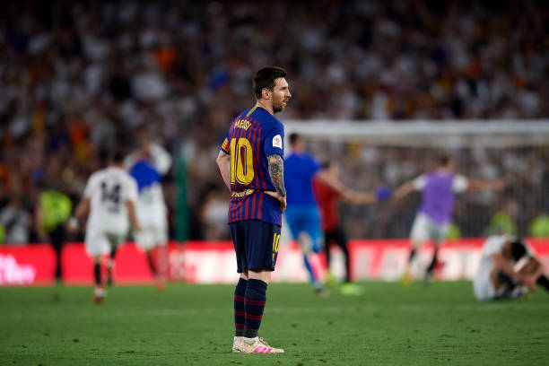 Messi helpless as Valencia stuns Barcelona in Copa del Rey Final