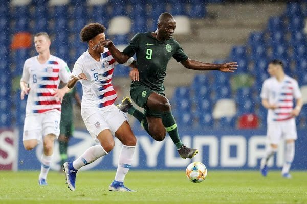 Flying Eagles lose to USA, render Ukraine game crucial
