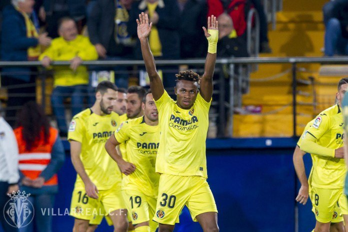 Barcelona wants Chukwueze to replace Coutinho at Camp Nou