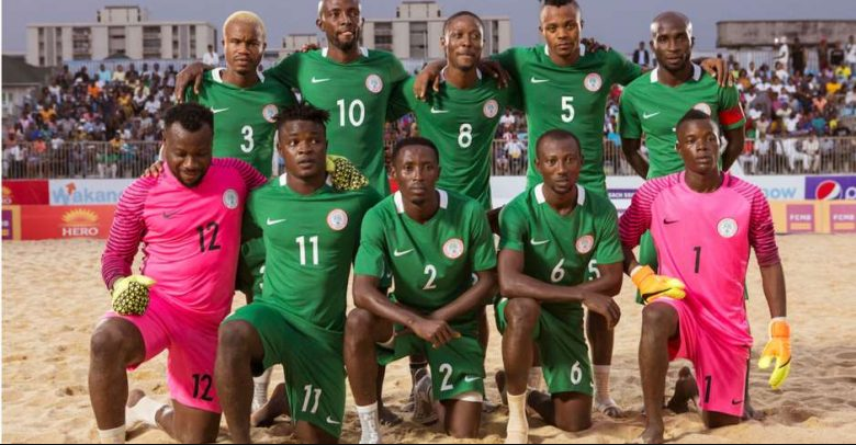 Sand Eagles forward Talle task NFF on 2019 Beach soccer world cup planning