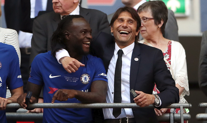 Antonio Conte tells Inter Milan to get him Victor Moses from Chelsea