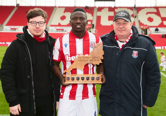 Etebo voted Stoke City POTY but Stats show Otherwise