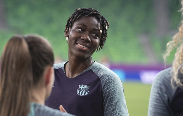 Lyon vs Barcelona: Asisat Oshoala starts first UWCL Final on the bench