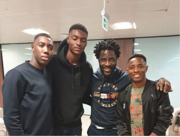 Wilfred Bony charges Flying Eagles star Makanjuola to make Africa proud in Poland