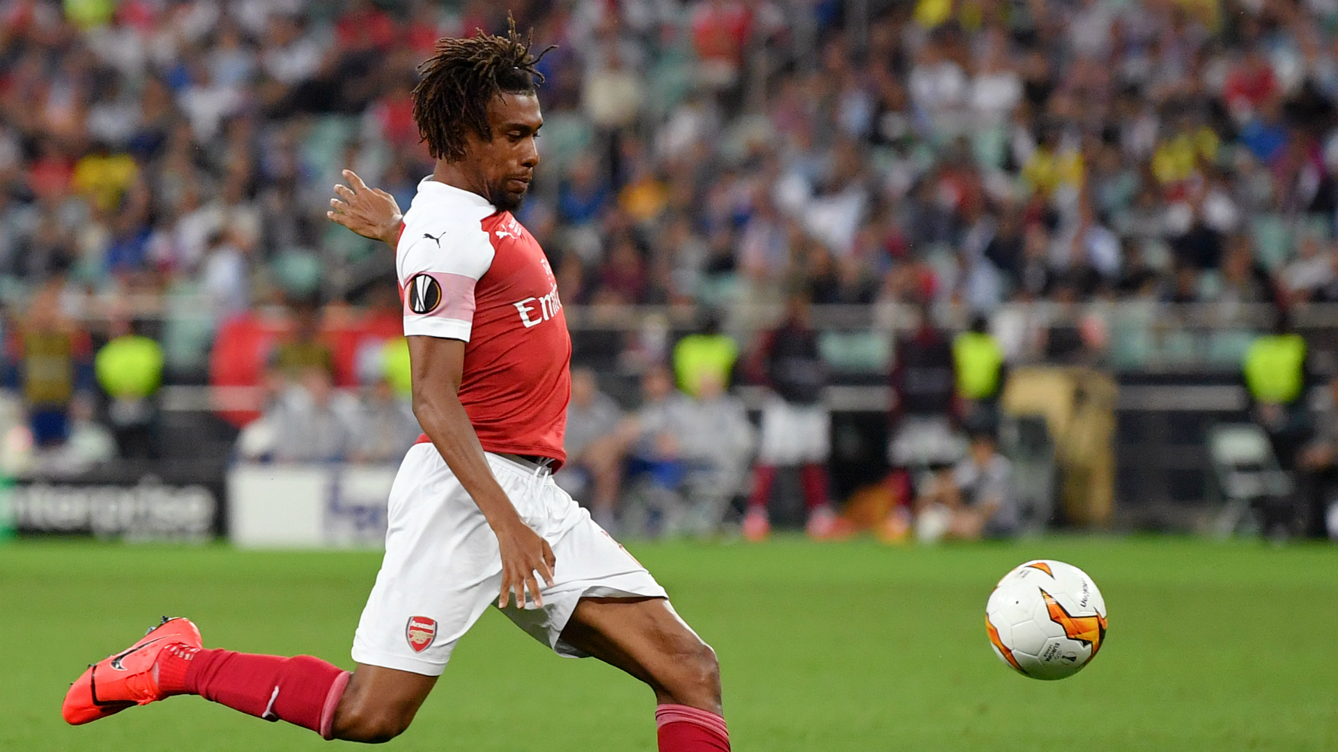 Iwobi makes History, but Arsenal suffer 4-1 hammering in Europa League final