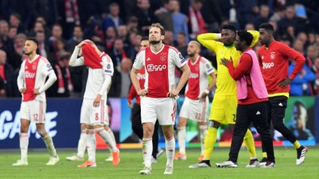 Udeze blasts Ajax for throwing away Champions League dream
