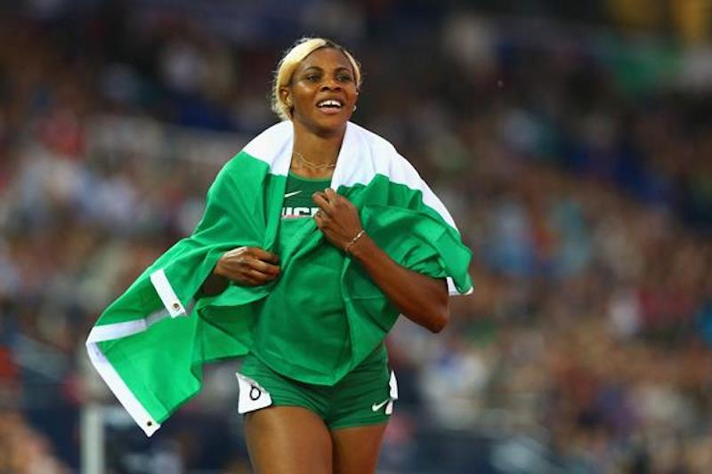 How Okagbare beats Double Olympic champion Elaine Thompson in IAAF Diamond league