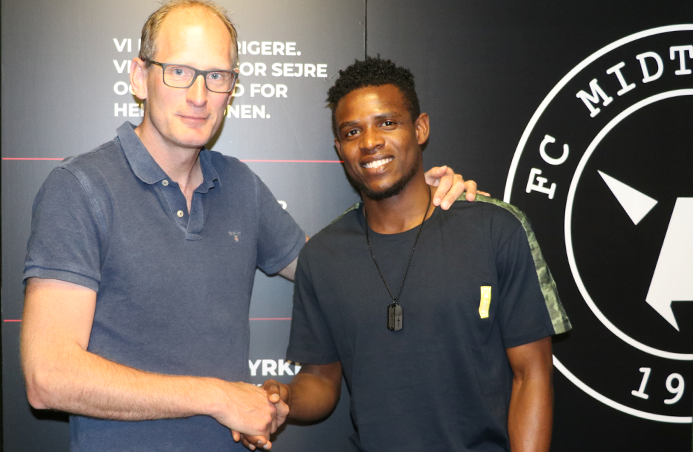 Onyeka signs new five year deal with Midtjylland