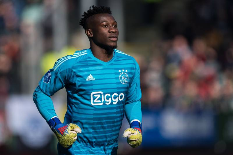 Black Goalkeepers must to work harder, says Ajax No. 1 Onana