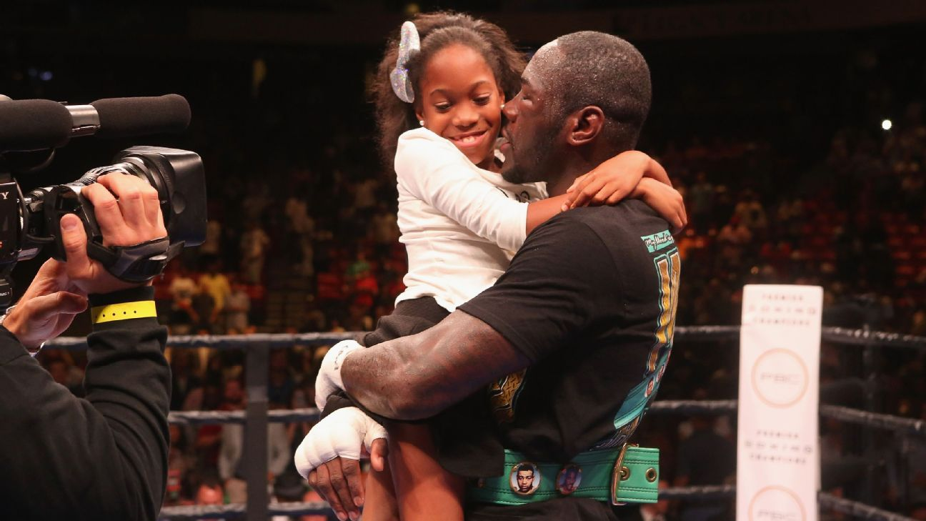 DEONTAY WILDER'S MIRACLE CHILD LED HIM TO BOXING