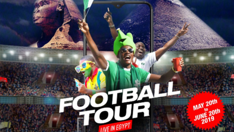 "Win an all-expense paid trip to watch the 2019 AFCON Finals live in the""Infinix Football Tour: Live in Egypt"" activity"