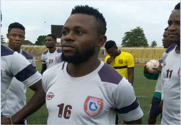 Akwa united Captain Effiong says Promise Keepers want to emerge overall group winner