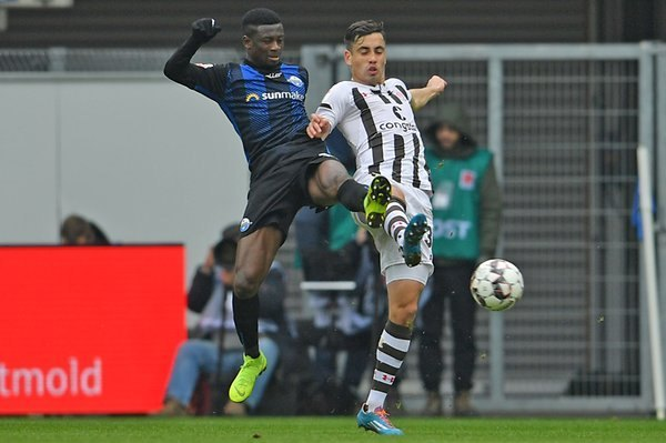 Jamilu Colins helps Paderborn avoid home defeat to Vfl Osnabrück FC