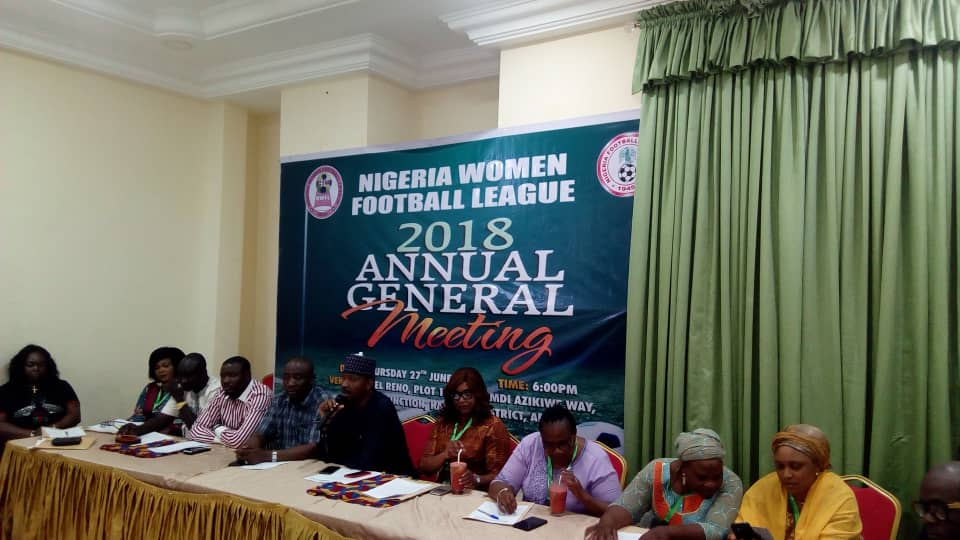 Nigeria Women League to begin abridged 2018/2019 season July 17