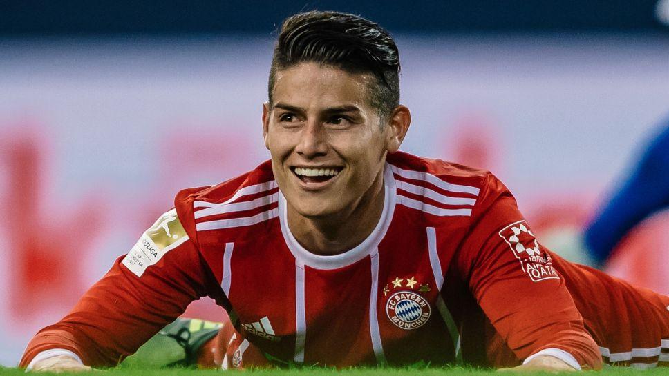 Atletico dey eye Rodriguez