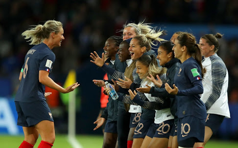 Over To You Falcons ! France Beats Korea 4-0 in 2019 FIFA Women's World Cup Opener