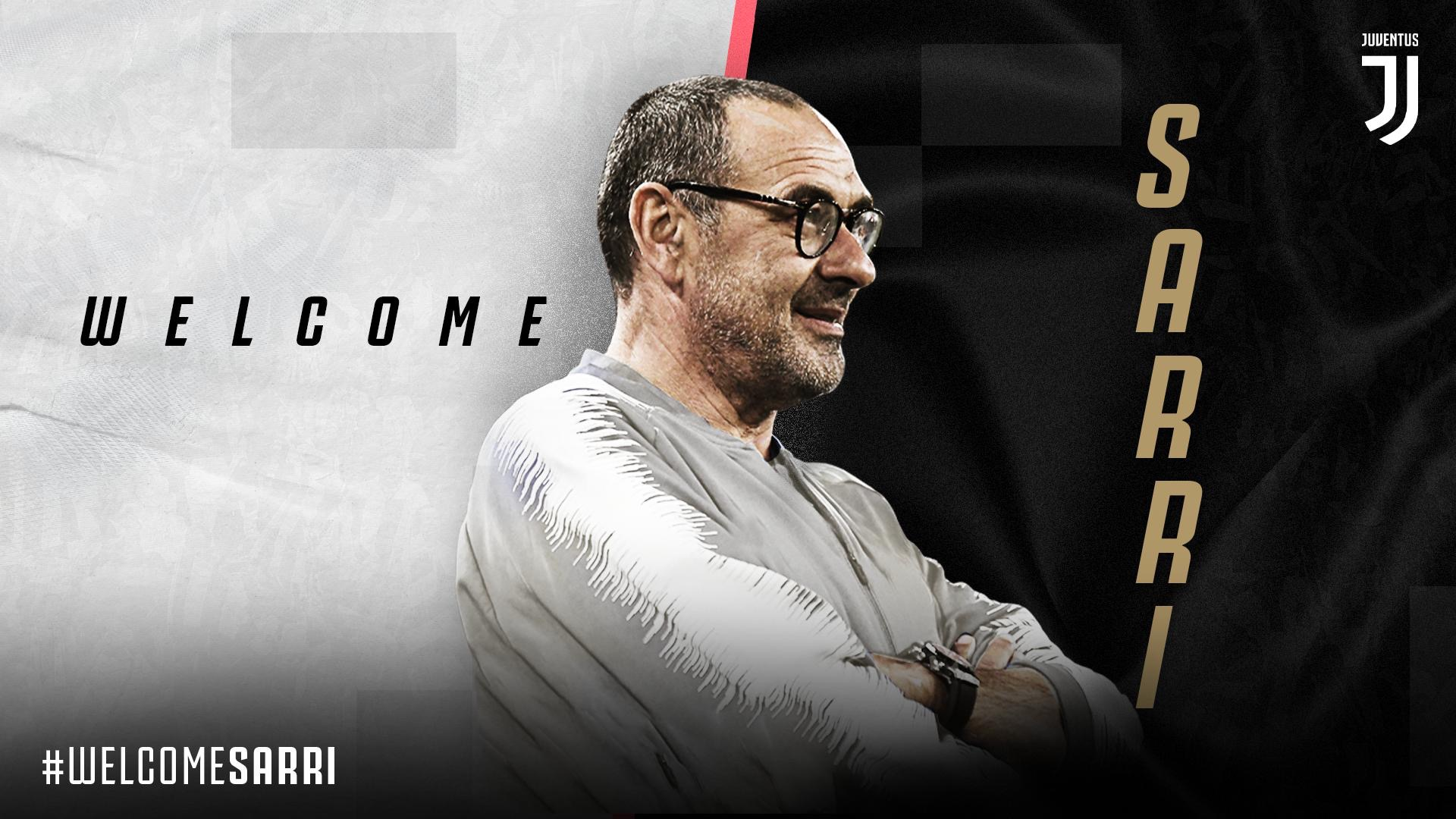 OFFICIAL – Juventus appoint Maurizio Sarri as New Manager
