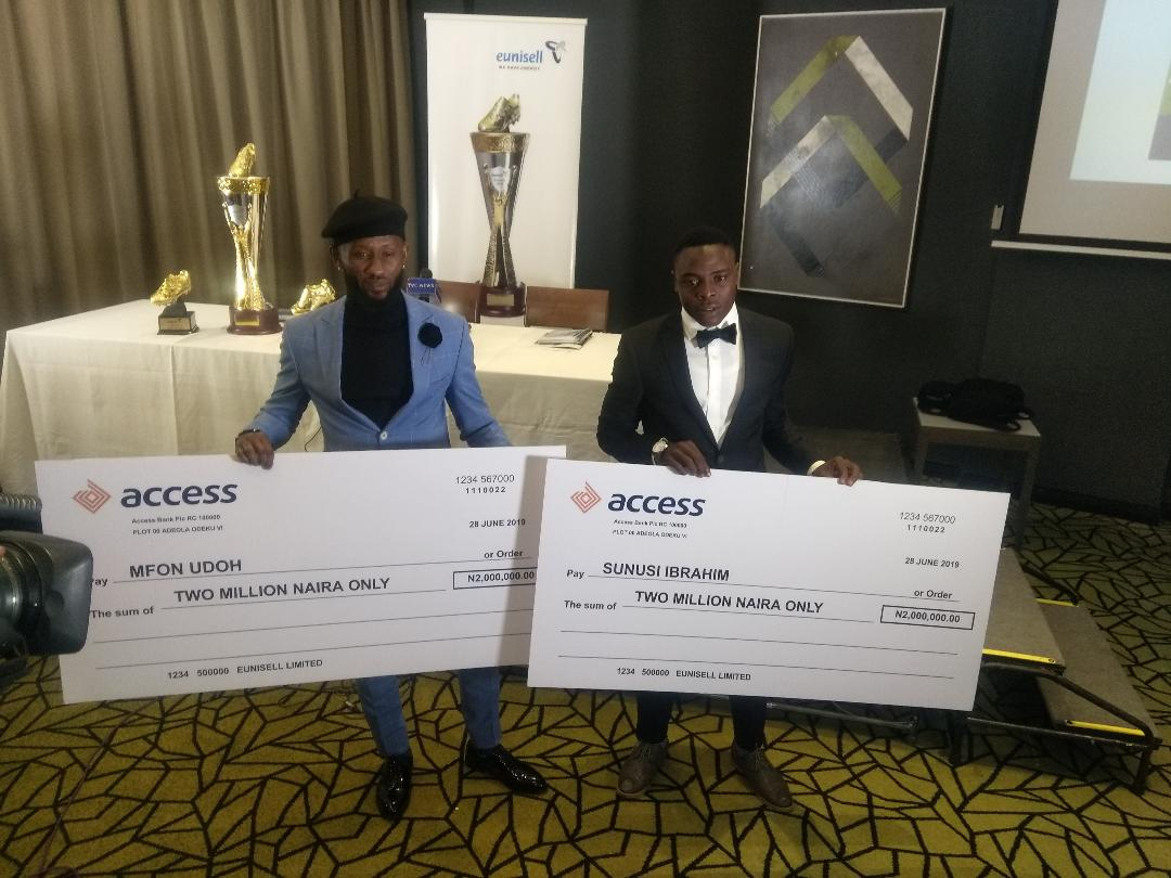 Mfon Udoh and Sunusi picks N4m Golden Boot award