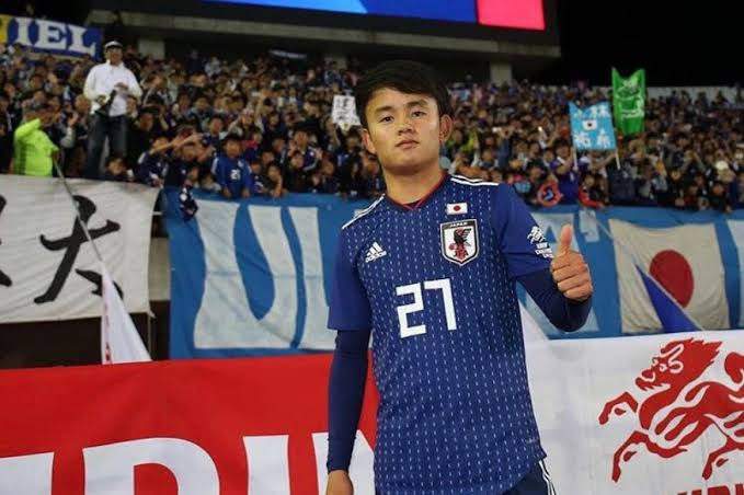 Real Madrid kpake Japan smallie player