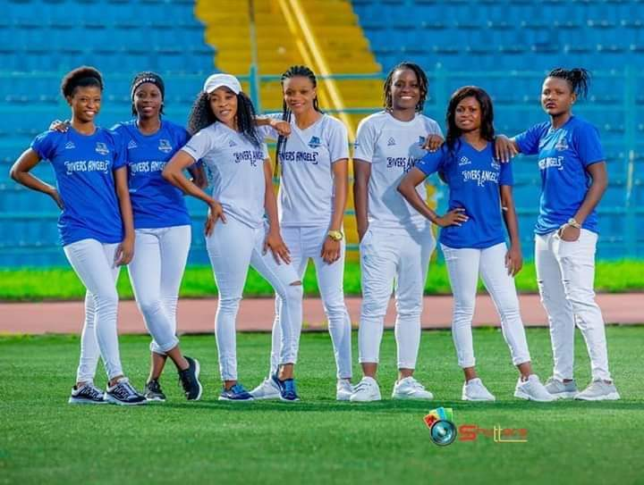 NWPL Divas ! Rivers Angels Players In Amazing Club Kits