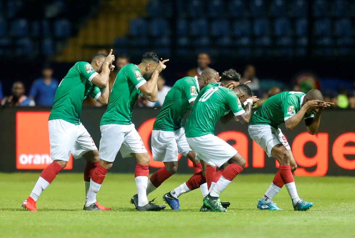 History Makers ! Madagascar Wins First Ever African Cup Of Nations Match