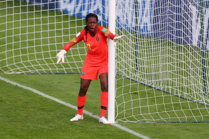 Superb Nnadozie sets incredible World Cup Record