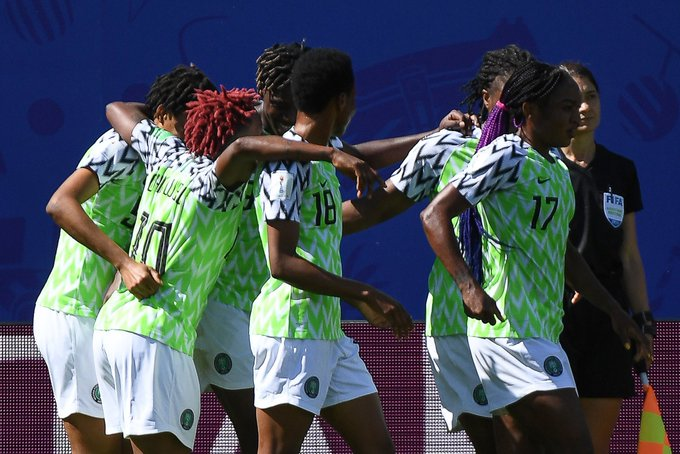Nigeria 2-0 South Korea: Oshoala scores to give Falcons first World Cup win since 2011
