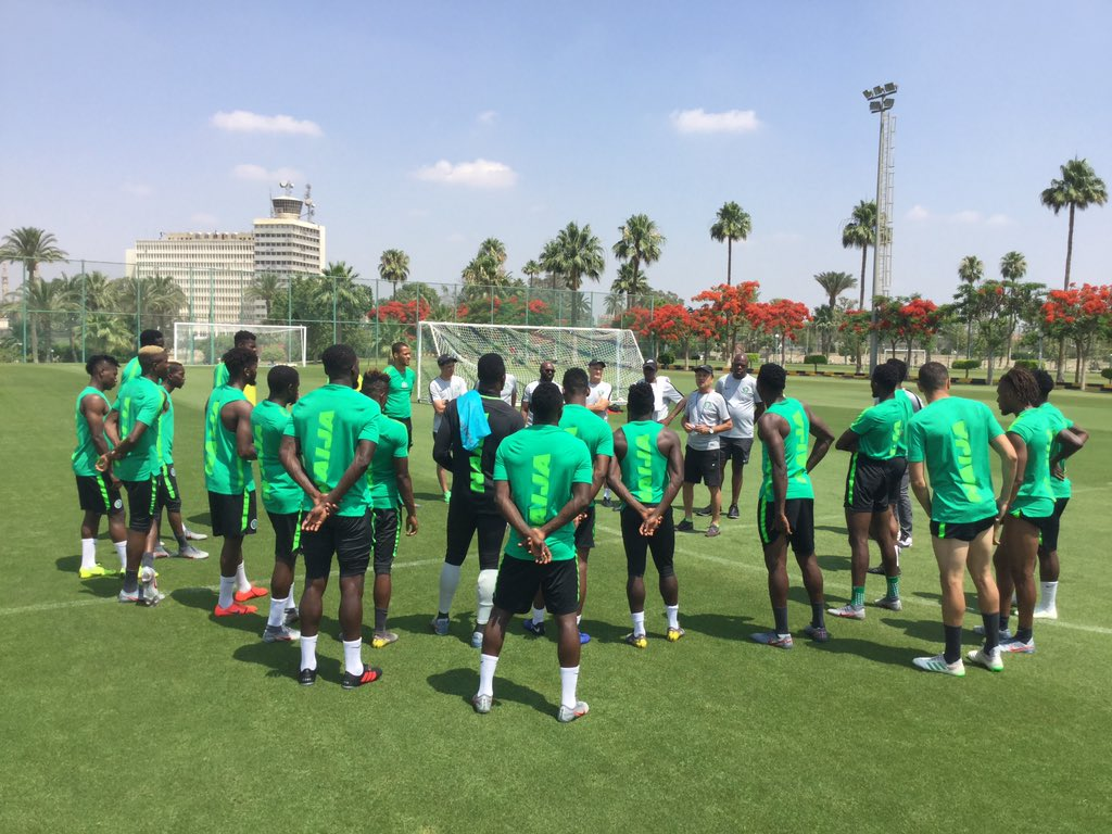 Aghahowa urge Eagles to beat Senegal for Psychological boost