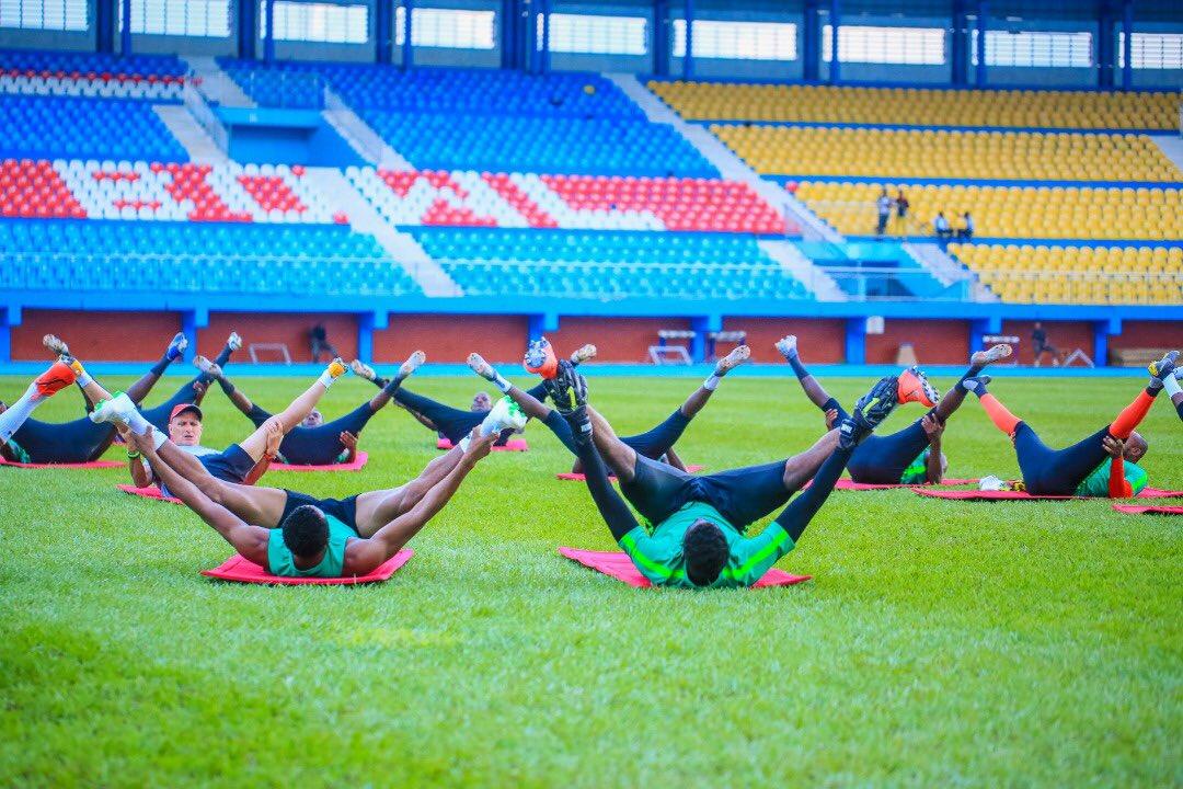 Rohr admits selection dilemma – sweats over Balogun, Ezenwa fitness