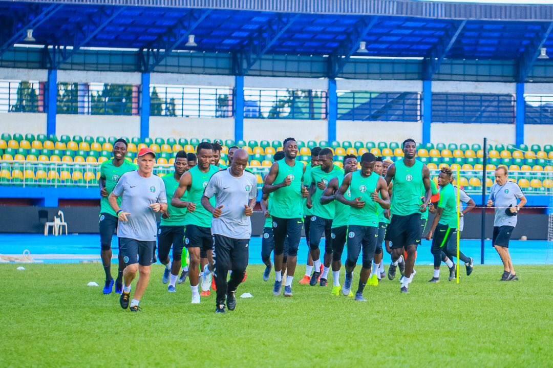 Ighalo out, Onuachu in – See How Eagles line up for Nigeria vs Zimbabwe