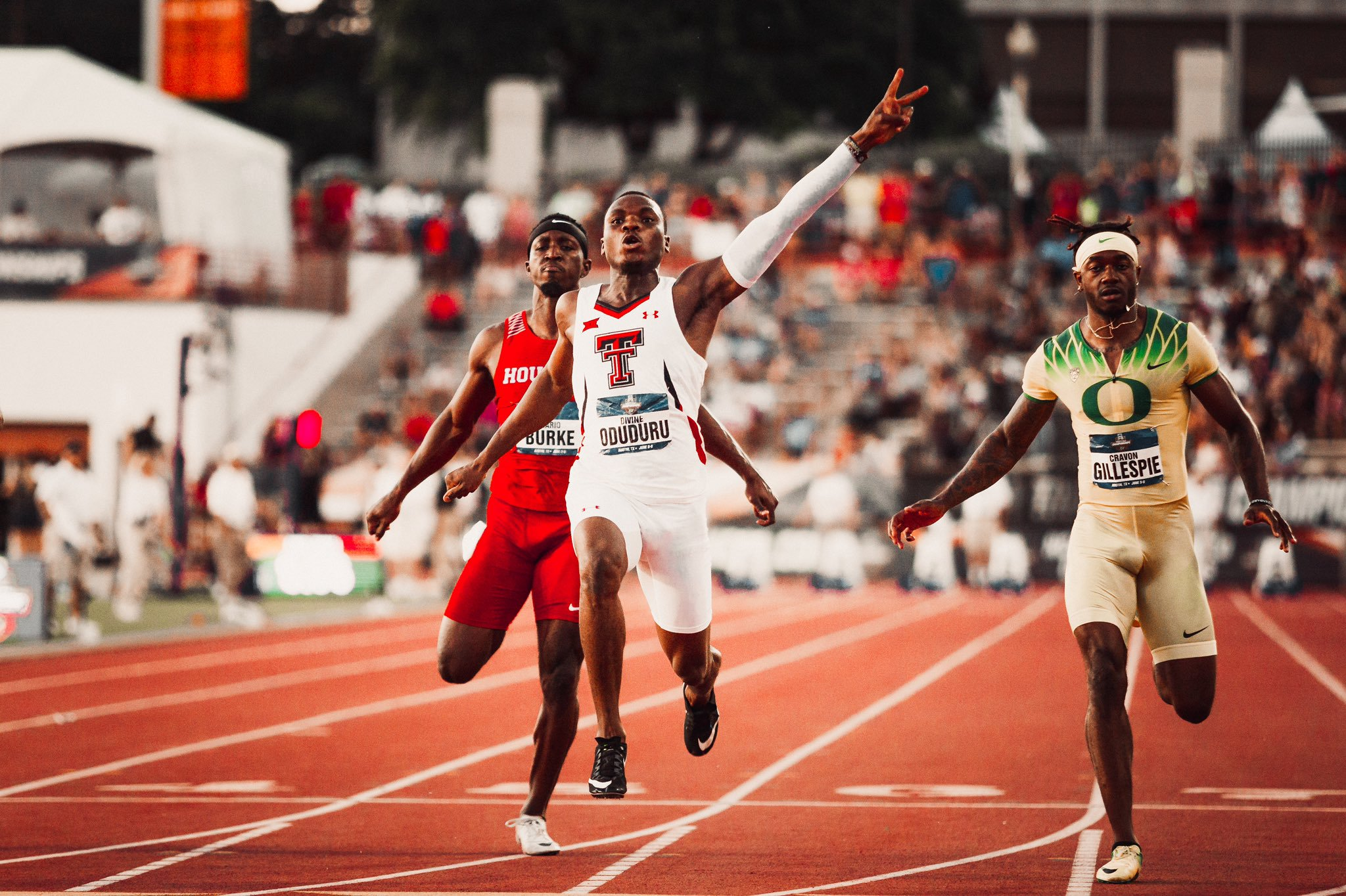 Divine Oduduru becomes 2nd fastest African ever (Video)