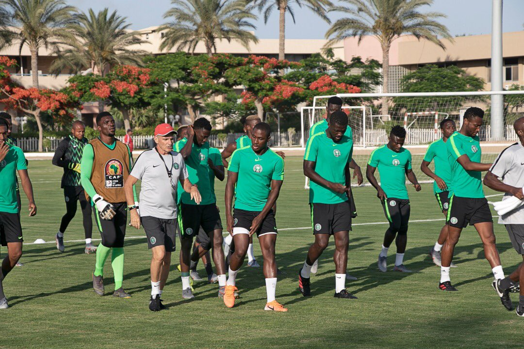 Mikel, Chukwueze out – See Super Eagles line up vs Guinea