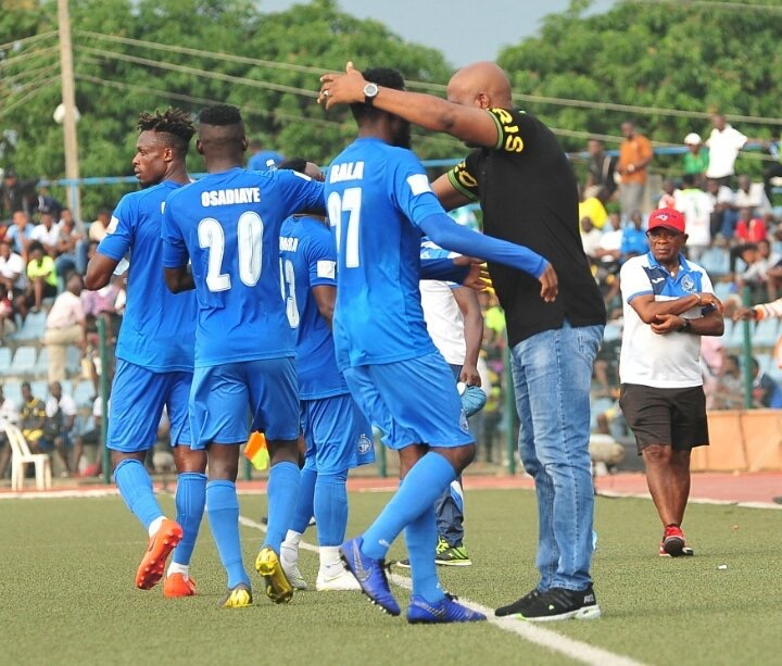 Image result for Enyimba International FC win 2018/2019 NPFL title