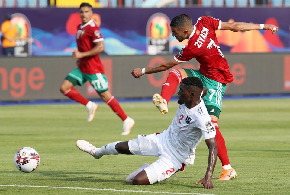 My boys play wella against Morocco- Ricardo Mannetti