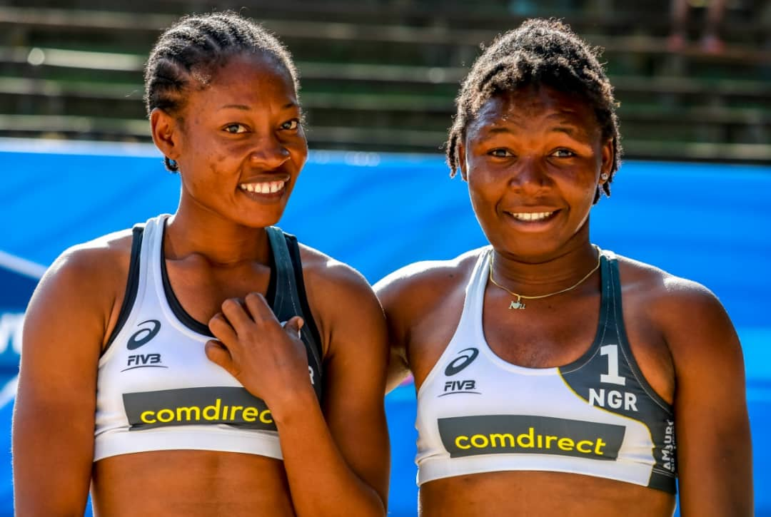 Nigeria lose to Brazil in World Beach Volleyball opener
