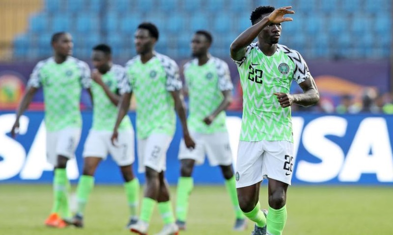 Omeruo reacts as Three Super Eagles make AFCON best XI