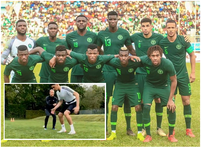 No pain no gain! Balogun puts in the Work to Justify Super Eagles call-up