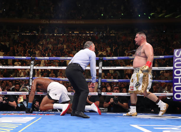 Anthony Joshua Out! Ruiz Jr. Claims Big Win with seventh-round TKO
