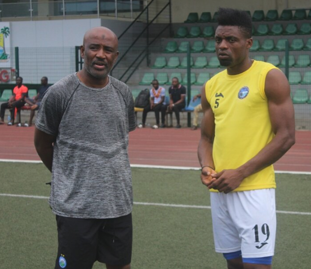 Enyimba Coach says 'We also want three points against Ifeanyi Ubah'