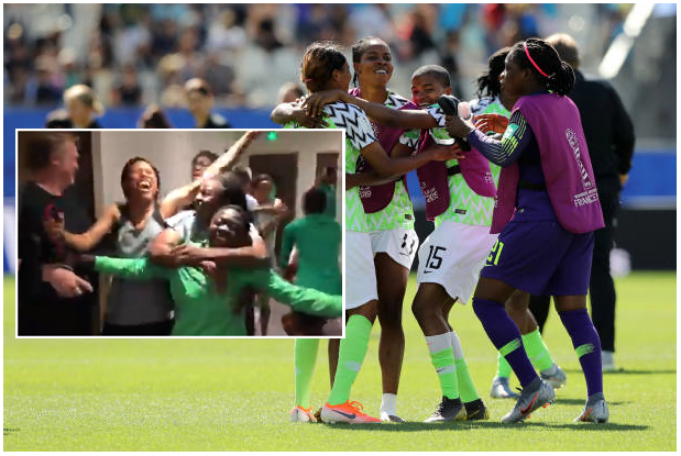 God of Soccer is Still Nigerian! Falcons Celebrate Wildly as Round of 16 Qualification is Confirmed