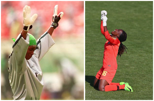 Chiamaka Nnadozie is THE ONE… most reliable Super Falcons Goalie since Ann Chiejine