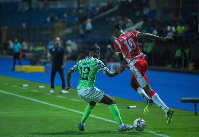 Shehu Abdullahi's AFCON debut spoiled, but Player gives positive Injury Update