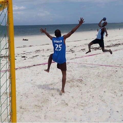 SAL 2019: Nigeria Beach Handball Team plays for Bronze