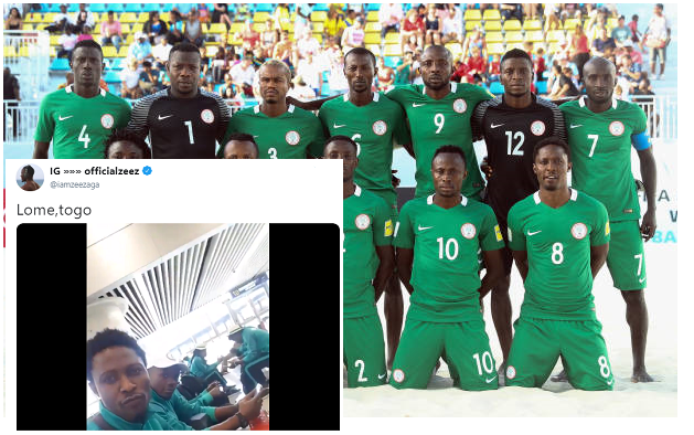 SAL 2019: Abu Azeez leading Eagles to African Beach Games