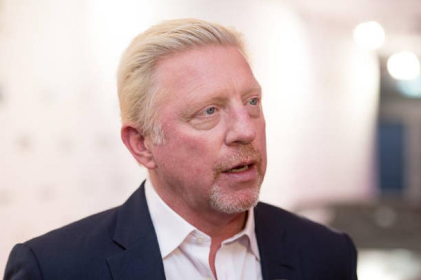 Boris Becker para for Smallie men tennis Players