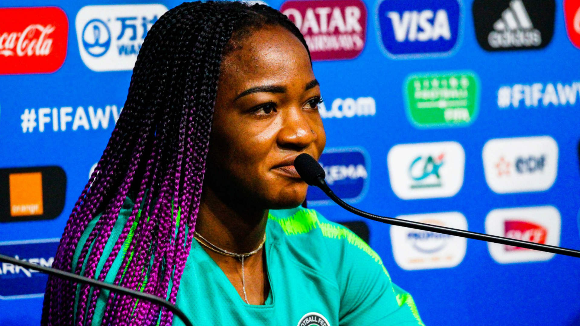Falcons star Ordega believes Nigeria have the right mix to challenge France