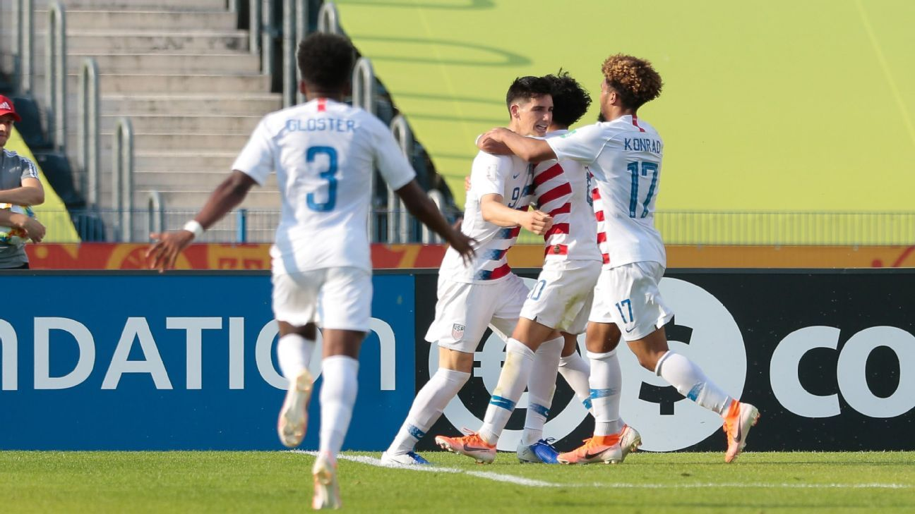 USA Shock France for U20 World Cup